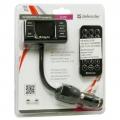 Defender FM-трансмиттер RT-PRO Пульт ДУ, USB для зарядки - Defender FM-трансмиттер RT-PRO Пульт ДУ, USB для зарядки