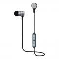 QUMO Freedom Pulse (BT-0010) темно серый - Наушники, микрофоны Qumo QUMO Freedom Pulse (BT-0010) темно серый, затычки, Bluetooth 4.2, 70 мА-ч, до 4х часов в режиме разговора[21777]