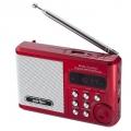 Радиоприемник Perfeo мини-аудио Sound Ranger - Радиоприемник Perfeo мини-аудио Sound Ranger, FM MP3 USB microSD In/Out ридер, BL-5C 1000mAh красный (PF-SV922RED)