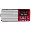Радиоприемник Perfeo радиоприемник цифровой ЕГЕРЬ - Радиоприемник Perfeo радиоприемник цифровой ЕГЕРЬ FM+ 70-108МГц/ MP3/ питание USB или BL5C/ красный (i120-RED)